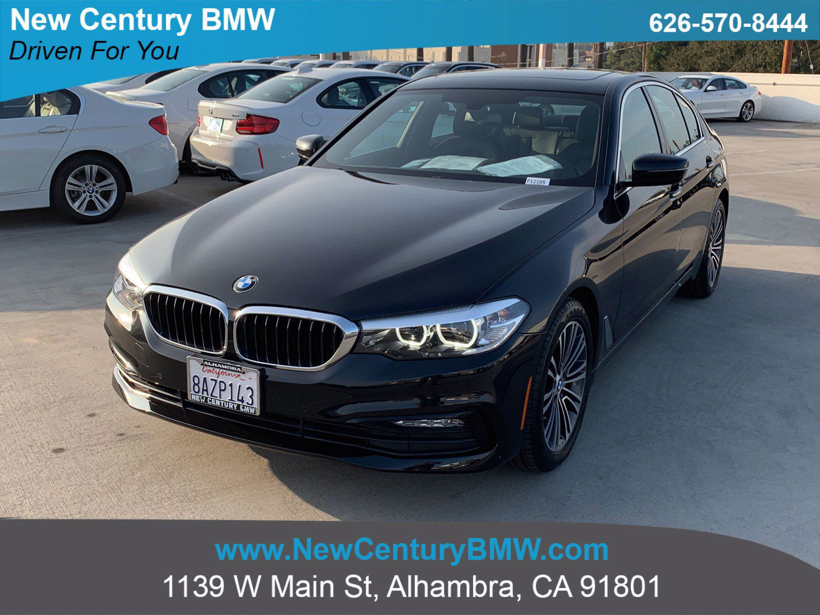 Used 2018 Bmw 5 Series For Sale Near Monrovia Ca Used Car Dealer In Alhambra