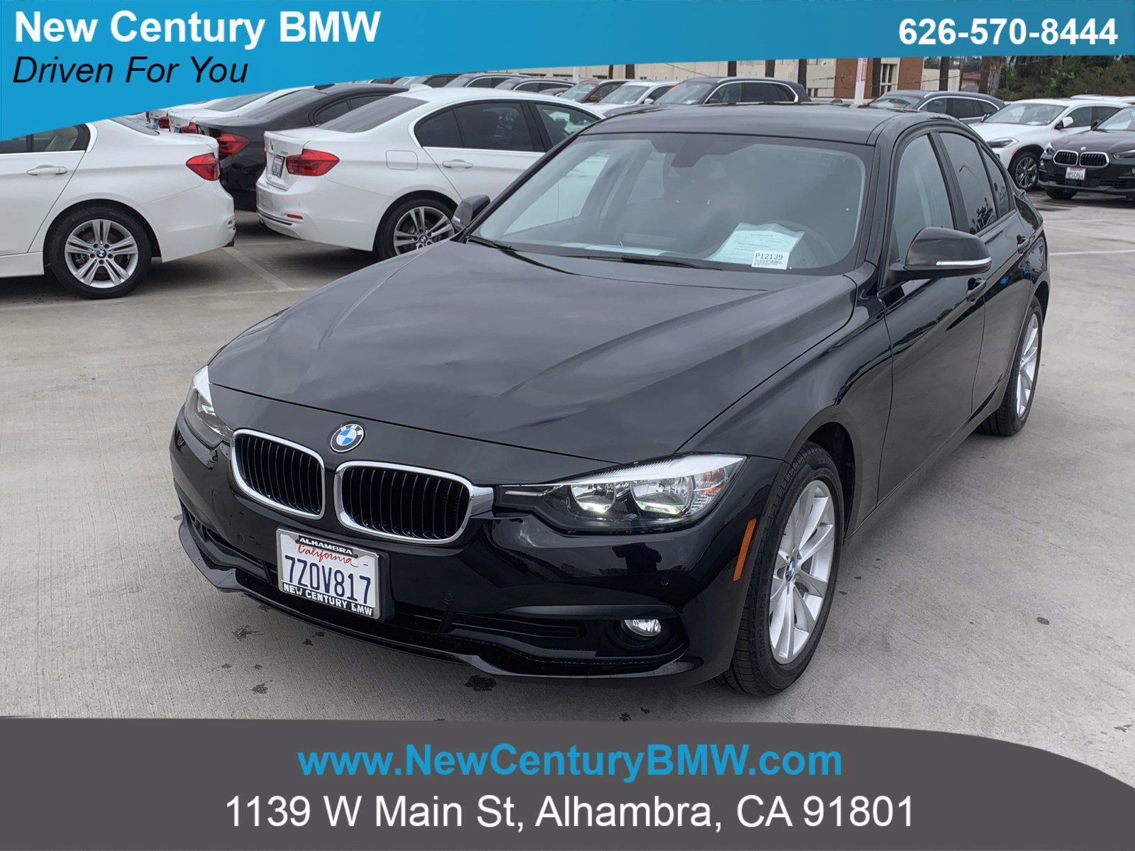 Used 2017 Bmw 3 Series For Sale Near Monrovia Ca Used Car Dealer In Alhambra